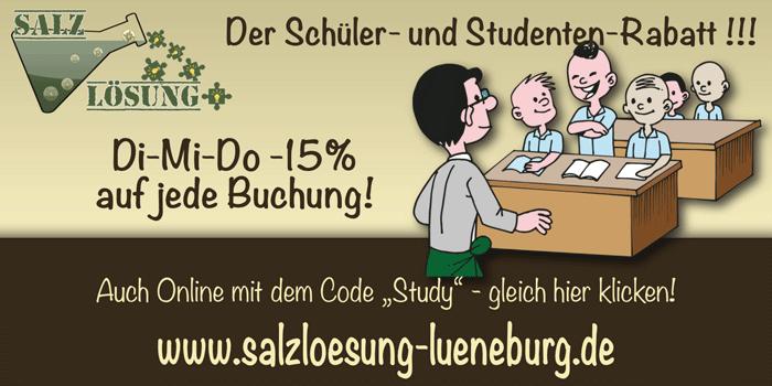 Schüler- und Studenten-Rabatt